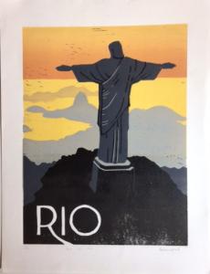Paysage Vue Cristo Rio