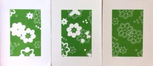 Linogravure Wax Africain